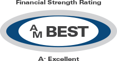 A- Excellent rating from AM Best